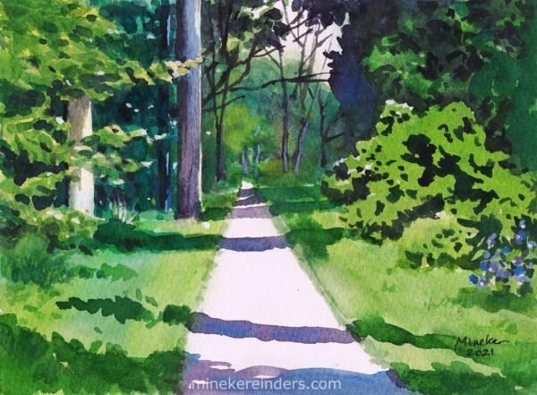 Woods 13 - 010621-minekereinders-watercolor