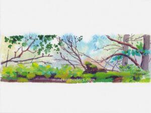 Woods 15 - 090621-minekereinders-watercolor