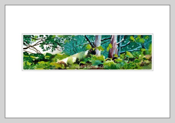 Woods 16 - 090621-minekereinders-watercolor
